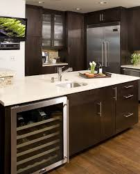 espresso kitchen cabinets traditional with eat in top islands and