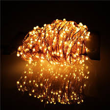 copper wire led lights christmas light 30m outdoor christmas fairy lights holiday party