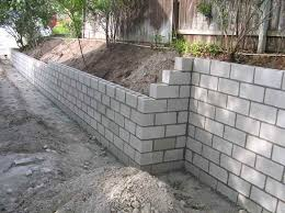 concrete block retaining wall design modern hd