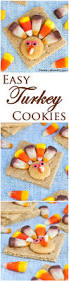 easy thanksgiving cookies easy turkey cookies that even kids can make using store bought
