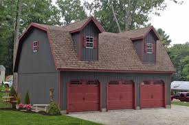 gambrel roof garages standard three car garages car garage and pole barn garage