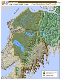 Kenai Alaska Map by Birding And Camping On The Kenai National Wildlife Refuge