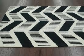 contemporary style chevron area rug
