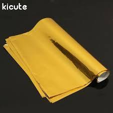 business card laminator kicute 50 sheets a4 gold sting foil paper laminator