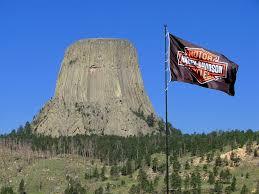 Harley Davidson Flags The Worlds Largest Harley Davidson Flag At Devils Tower Tr U2026 Flickr