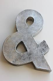 letter s wall decor faux metal letter zinc steel initial home room decor diy signs