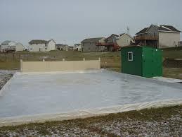 backyard rink ideas outdoor furniture design and ideas