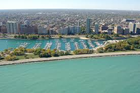 belmont harbor the chicago harbors in chicago il united states