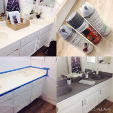painting bathrooms diy painting bathroom countertops using stone spray paint