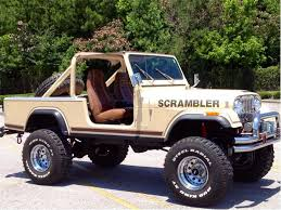 jeep scrambler for sale 1982 jeep cj8 scrambler for sale classiccars com cc 483335