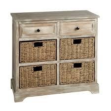Antique Storage Cabinet Antique 2 Drawer 4 Basket Storage Cabinet Tree