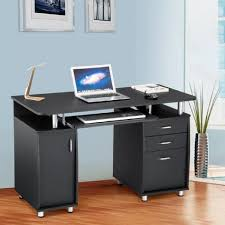 petit bureau informatique pas cher mobilier pour ordinateur fixe meuble portable roulettes et