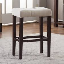 bar stools simple set of 3 saddle seat bar stools 24 saddle seat