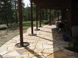 Stone Patio Images by Wooden Farmhouse With Stone Patio Entrance U2013 Homyxl
