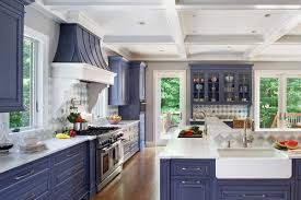 images of blue and white kitchen cabinets 5 beautiful blue and white kitchen combinations