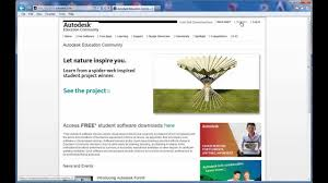 free autodesk software at the autodesk education community youtube