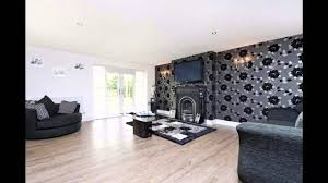 livingroom wallpaper fabulous black wallpaper living room decorating ideas