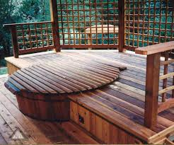 gallery of deck ideas with tub perfect homes interior design
