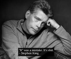Stephen King Meme - x was a mistake stephen king anime was a mistake know your meme