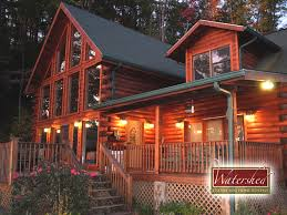 log cabin luxury homes eagle u0027s nest hideaway watershed cabins luxury log home