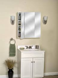 Bathroom Mirror With Light Remarkable Large Bathroom Medicine Cabinets With Wooden Wall Shelf