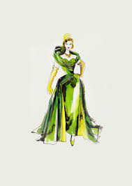 these sketches make us love the costumes of cinderella even more