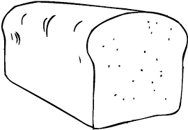 Bread Coloring Page bread coloring page wrha us