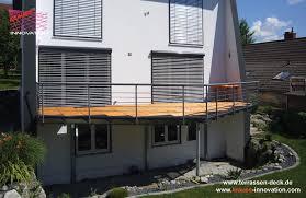 balkon und terrasse balkon terrassen deck direkt vom hersteller krauss gmbh krauss