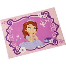 chambre princesse sofia tapis princesse sofia chambre enfant 95x133 cm achat vente