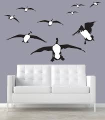 canada geese wall decal silhouettes cupped canada goose