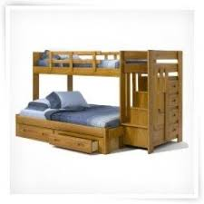 twin over full bunk bed stairs foter