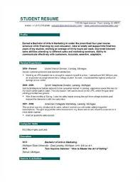 Sample Resume For College Student by 19 College Resume Samples Free Online Resume Builder For