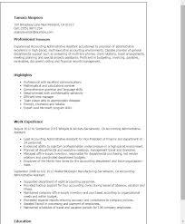 download environmental administration sample resume