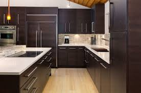 Beautiful Kitchen Colors With Dark Cabinets Home Design Lover - Kitchen backsplash with dark cabinets
