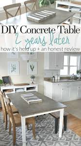 diy concrete table top best diy concrete table top years later the crazy craft lady pic of