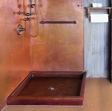 metal shower pans modern heritage matters