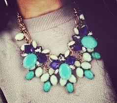 big crystal statement necklace images Big necklaces cool blue crystal bug statement necklace rrlhler jpg