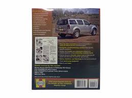 workshop manual for nissan navara d40 and pathfinder r51 4 0 2 5l