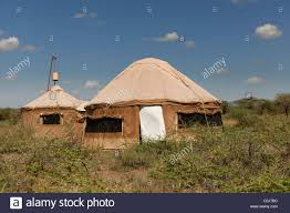 Camp Style Tents In Style Of Yurt From Nduara Loliondo Tended Safari Camp