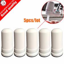 Kitchen Faucet Water Purifier 5pcs Lot Waterfilter Cartridges For Kubichai Kitchen Faucet