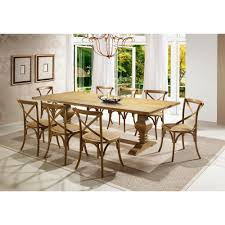 artefama tower dining table artefama furniture tower 94 in oak dining table 6051 0002 the