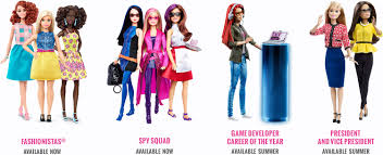 evolution barbie