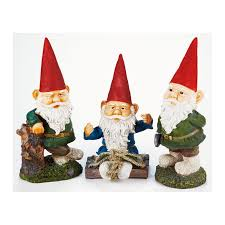 garden gnome ornament 4 designs available at homebase co uk