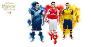 arsenal puma deal arsenal launch snazzy new puma kit with live projection on river