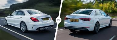 audi a4 comparison mercedes c class vs audi a4 comparison carwow