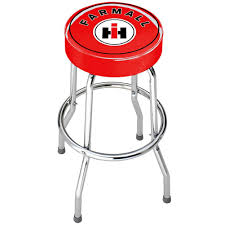 amazon com international harvester farmall red top stool kitchen