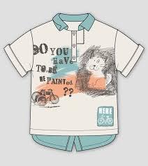 cute cat print polo shirt kidsfashionvector cute vector art