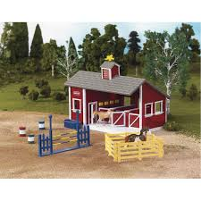 breyer stable mates red stable horseland