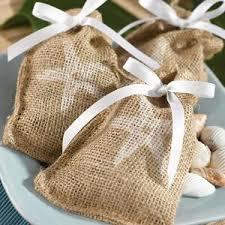 burlap wedding favor bags bolsitas para recuerdos recuerdos boda