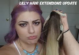 lilly hair extensions lilly hair extensions 7 month update